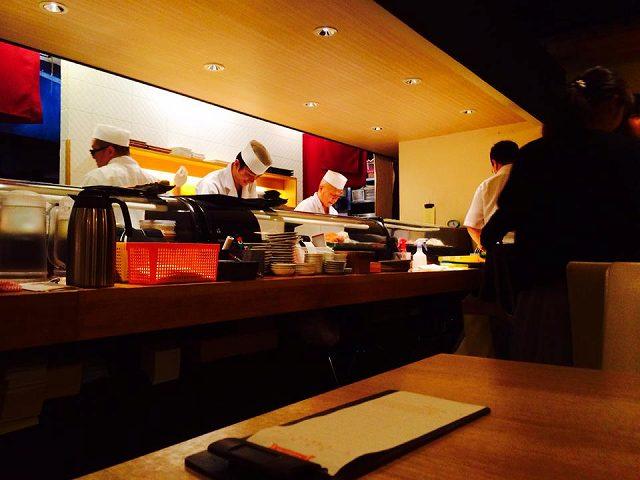 神楽坂の寿司食べ放題に行ってきました