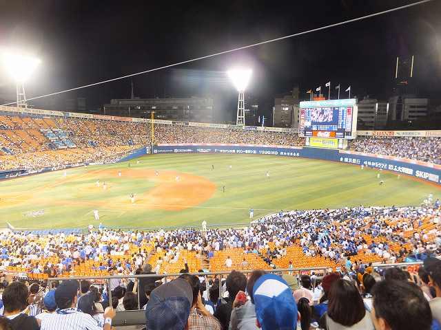 横浜スタジアムの風景