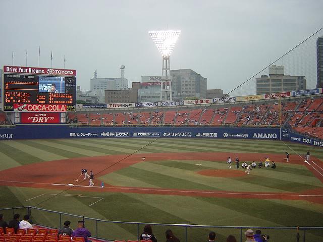 観客が少ない・・・:暗黒時代の横浜スタジアム