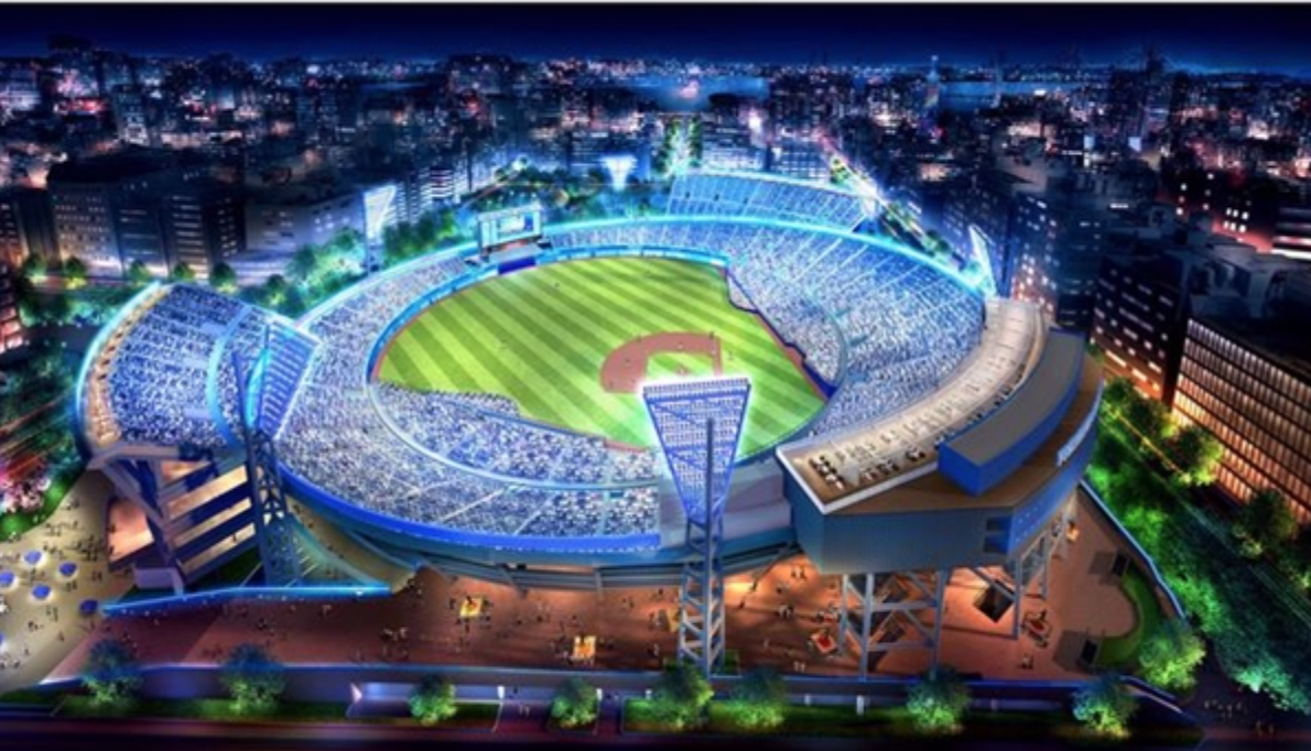 2020年横浜スタジアム完成予想図