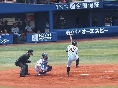 突っ込みながら打つ感じも、横浜時代と変わりません!