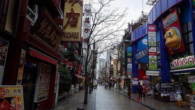 残念ながら雨の中華街でしたが…