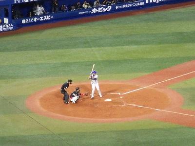 ハマの番長:三浦大輔投手の打席