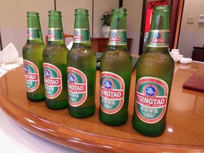 中国名物ビール:青島(チンタオ)