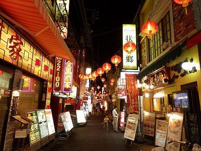横浜中華街の夜の写真