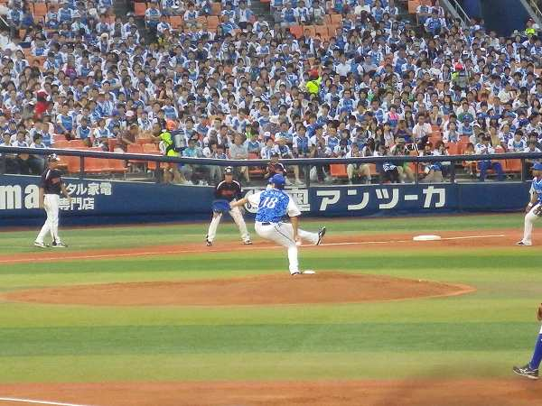 ハマの番長:三浦大輔!:横浜スターナイト
