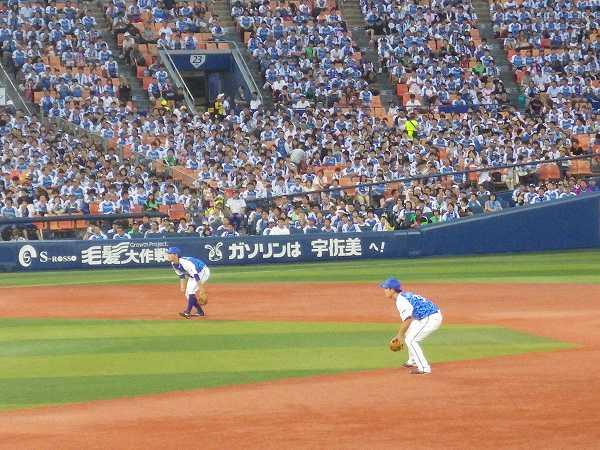 二遊間コンビがルーキー:横浜DeNAベイスターズ