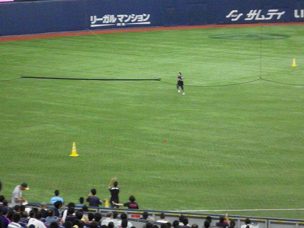 マリーンズ&バファローズファン対決:リレー:大阪ドーム