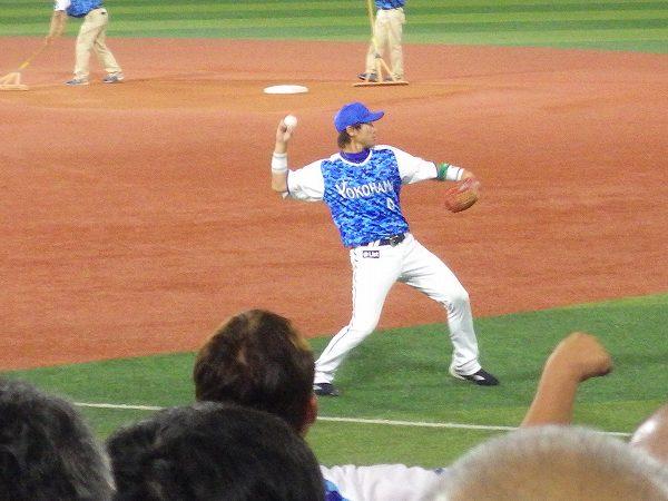 横浜DeNA:副キャプテン:山崎憲晴選手