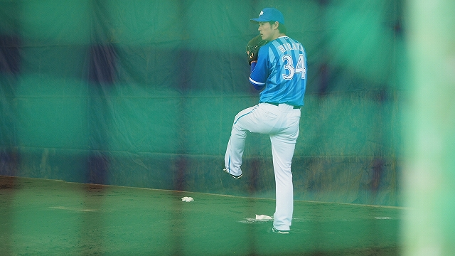 平田真吾投手投球フォーム:宜野湾キャンプ