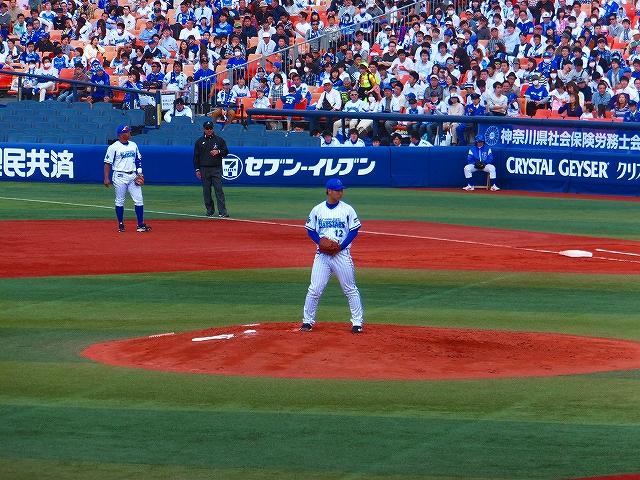 リリーフで登板:小林寛投手横浜DeNA