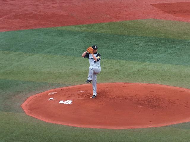 久々の勝利!阪神タイガース藤川球児投手
