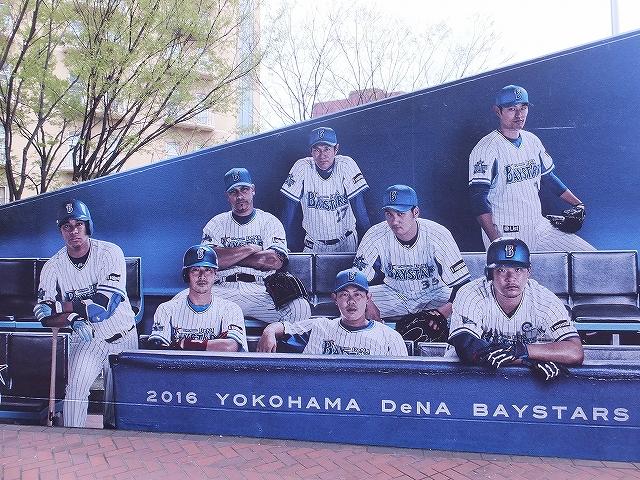 かっこいい横浜DeNAの写真:ハマスタトイレ前