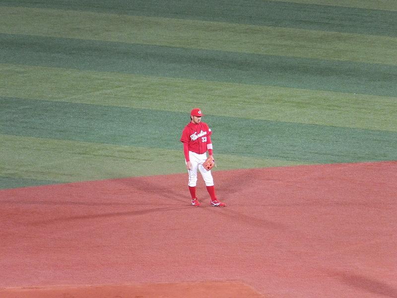広島カープ菊池選手:守備はヤバイ