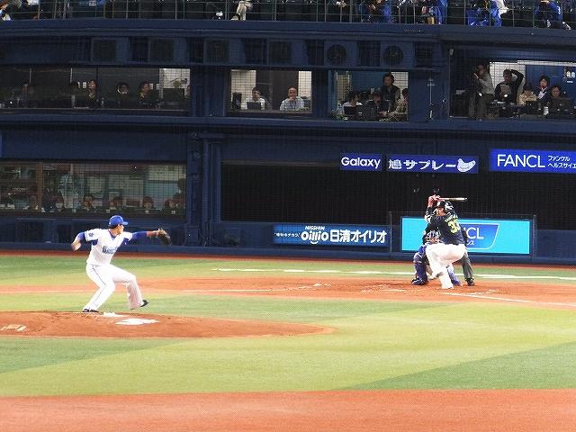 東京ヤクルト戦:井納VS畠山