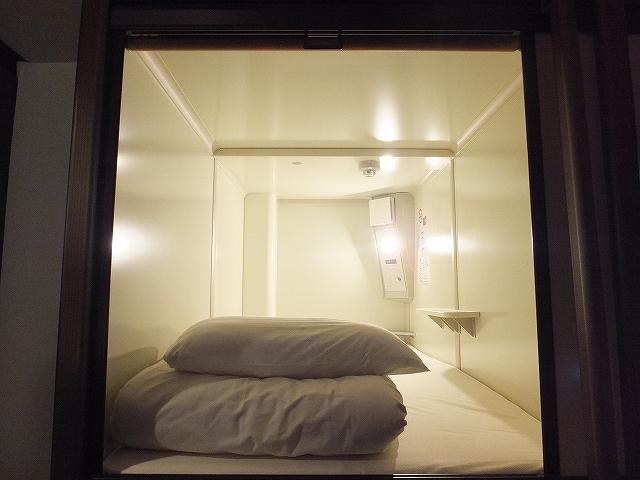 広島カープ観戦:オススメカプセルホテル