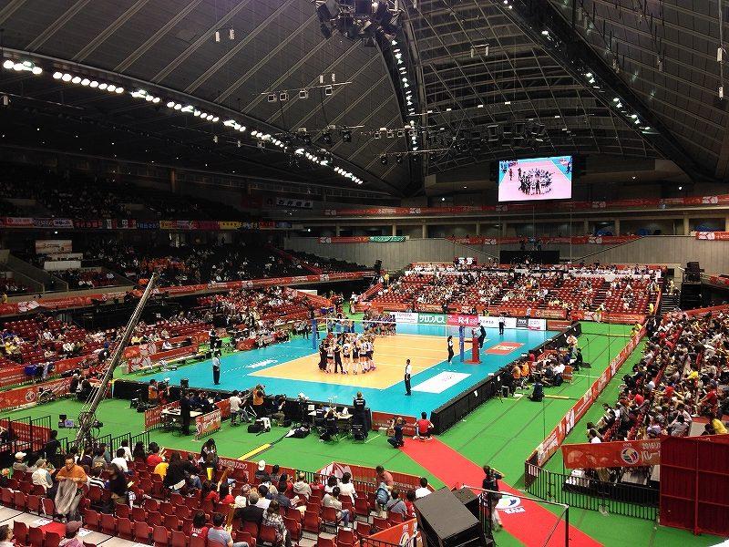 東京体育館:バレーボールオリンピック最終予選観戦記