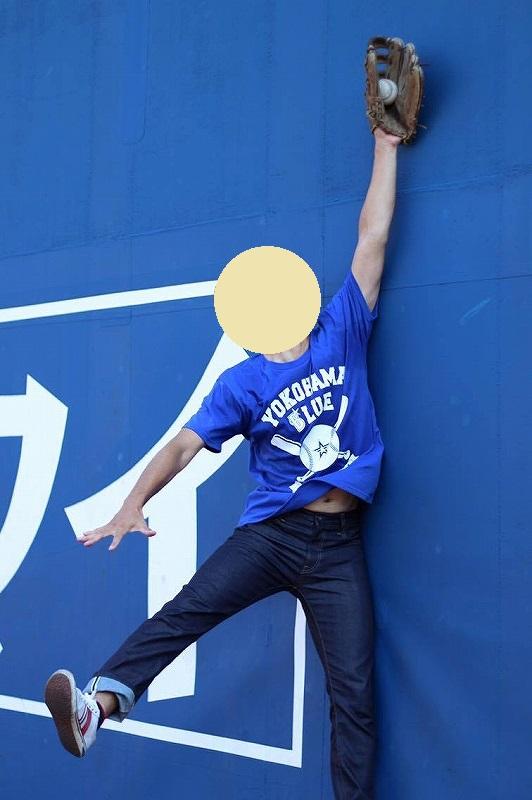 横浜スタジアム朝の無料開放!フェンスにぶつかってフライを捕ってみた?!