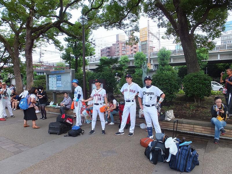 プロ野球オールスターに来ていたそっくりさん:横浜スタジアム