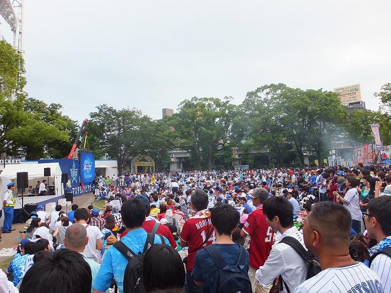 オールスターゲーム2016:横浜スタジアム第二戦は超満員!