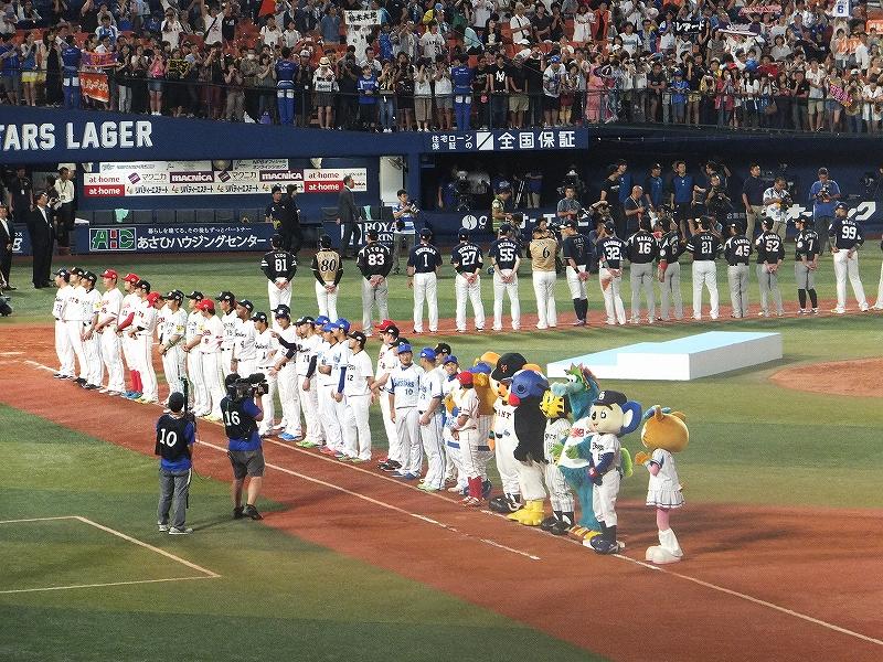プロ野球オールスターゲーム2016:横浜スタジアム