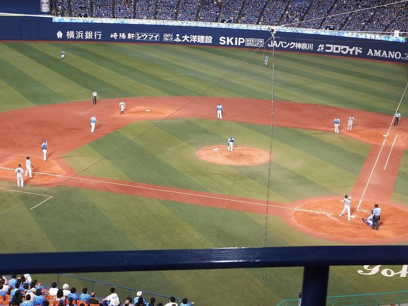 ツーアウト満塁の大ピンチ:山崎康晃投手:スターナイト