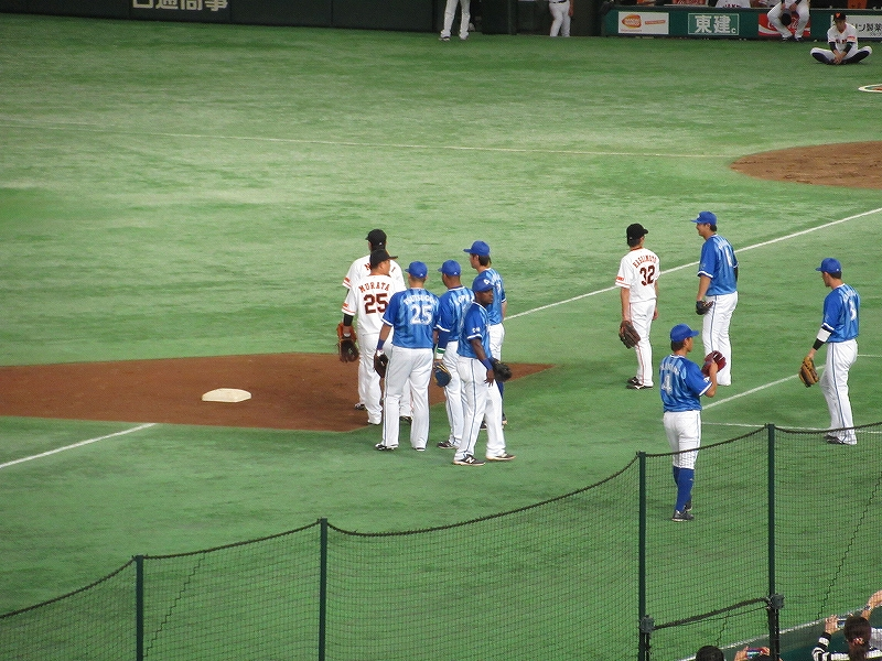 クライマックスシリーズ試合前:筒香&村田修一