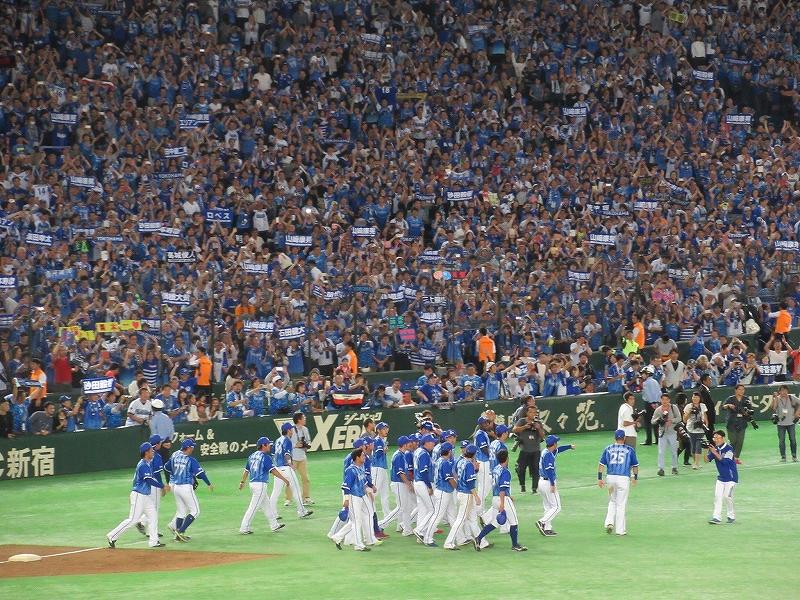 横浜DeNAがファイナルステージ進出決定!広島へ