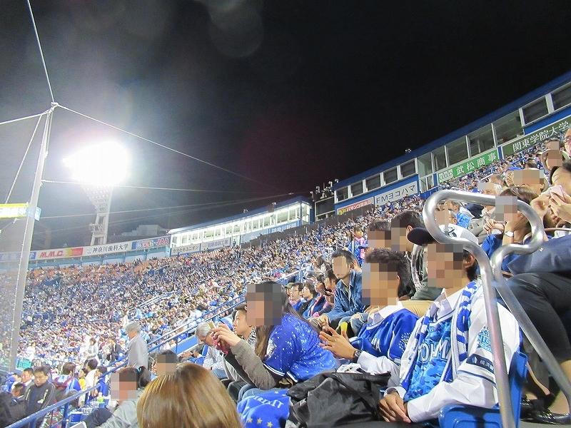 横浜スタジアムパブリックビューイング:CSファイナルステージ広島戦の景色