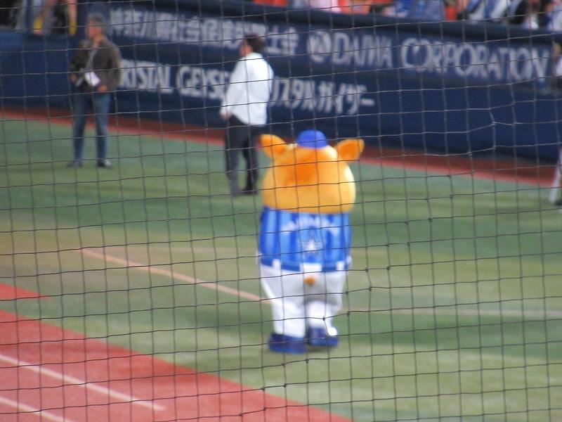 スターマン:横浜スタジアムパブリックビューイング:CSファイナルステージ広島戦