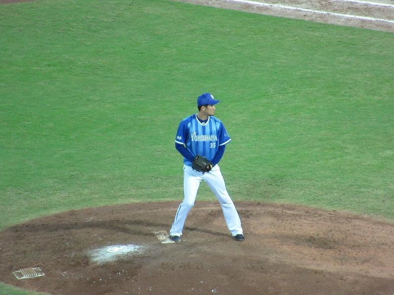 横浜DeNA三上投手:CS2016広島戦