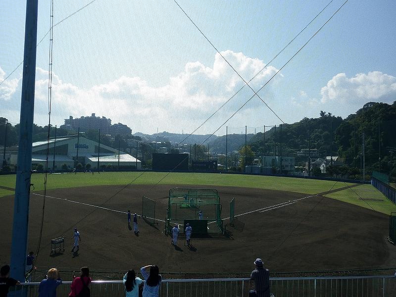 横浜DeNAベイスターズ横須賀:長浦の総合練習場