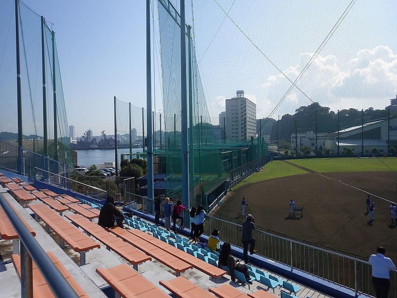 横浜DeNAベイスターズ横須賀:長浦の2軍の総合練習場に行ってみた