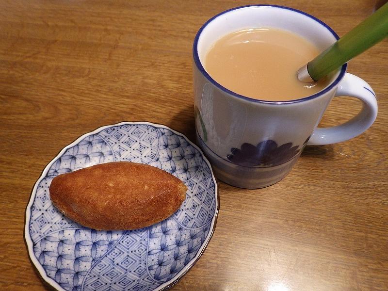 ありあけ横浜ハーバー:ダブルマロンを紅茶で食べた♪