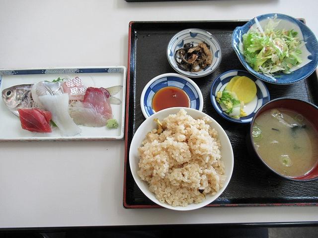 漁火亭:三浦海岸:刺身定食