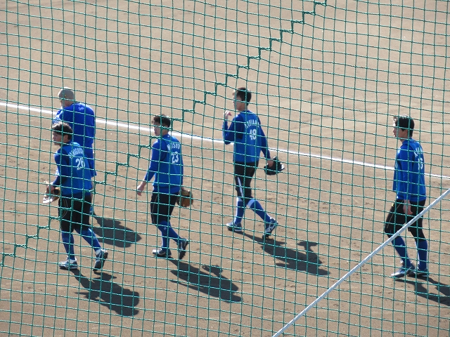 2016年ドラフト組:新人:長浦練習場