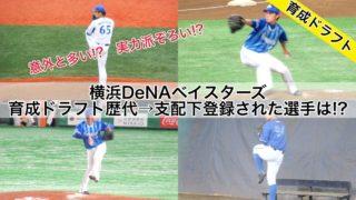 横浜DeNAベイスターズ歴代育成ドラフト→支配下登録された選手は!?(2020年版)