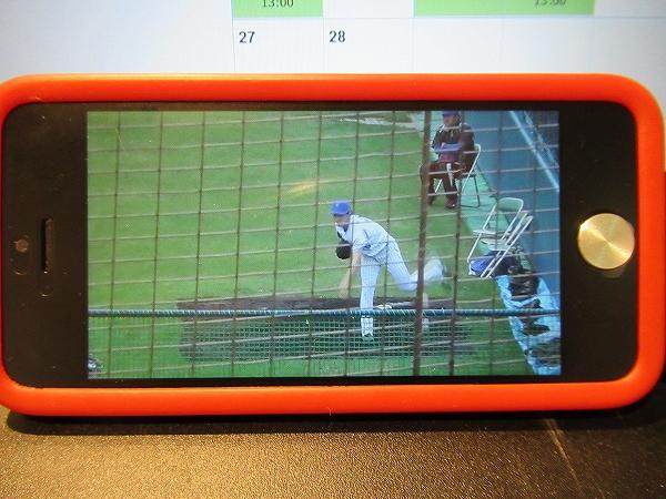 スマートフォンからスポナビライブでプロ野球を楽しむ!3