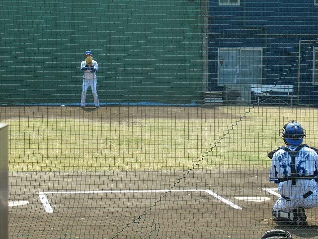 柿田ブルペン2013年ドラフト1位:横浜DeNA長浦練習場!
