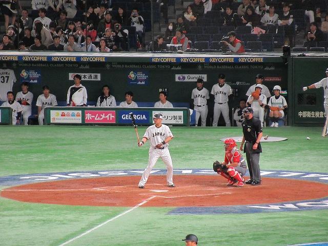 筒香嘉智:WBC2017東京ドーム観戦記