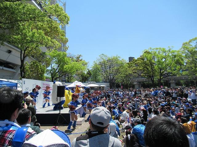 試合前ライブ!横浜DeNAガールズフェスティバル