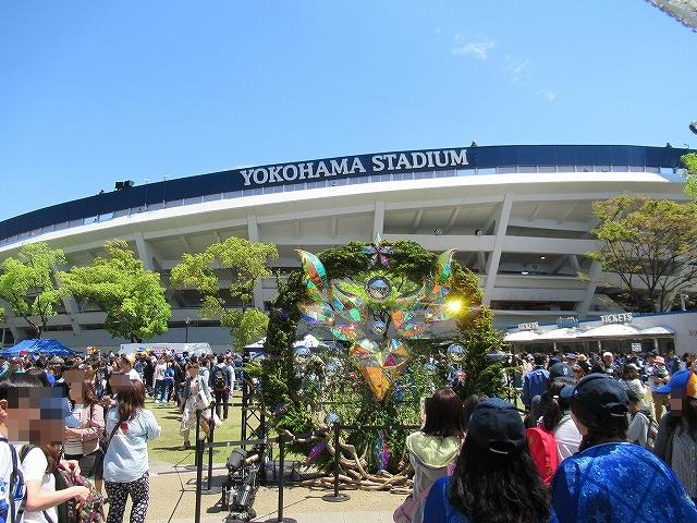 横浜スタジアム前!横浜DeNAガールズフェスティバル