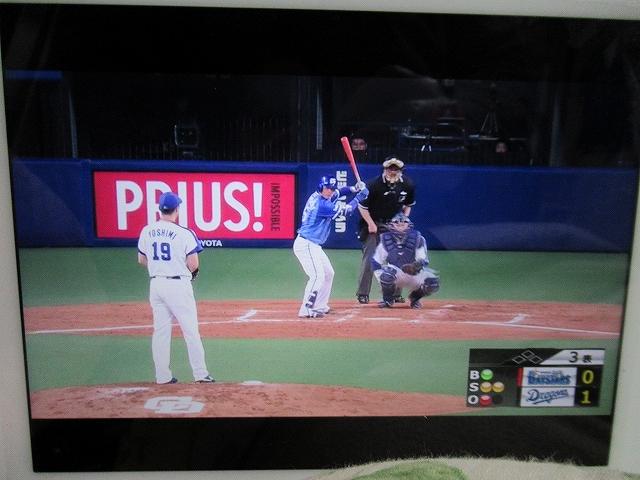 めっちゃ打ちそうな濱口投手:スポナビライブで横浜DeNAを楽しむ!