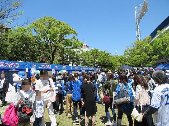 物販コーナーに行列!横浜DeNAガールズフェスティバル