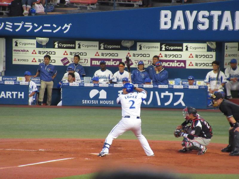 横浜DeNAホセ・ロペス!