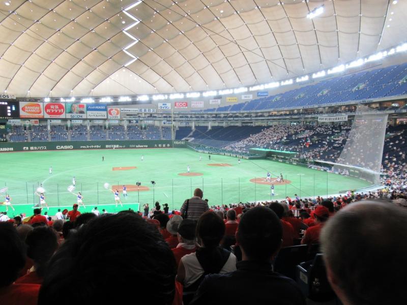 都市対抗野球:東京ドームの様子