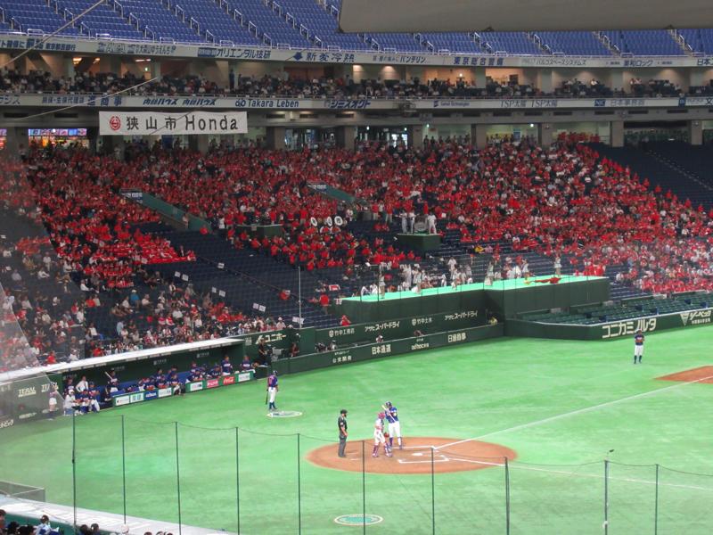 HONDAの応援席の様子:都市対抗野球・東京ドーム