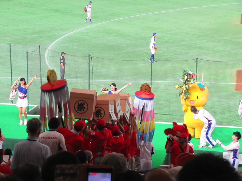 HONDAの応援:都市対抗野球東京ドーム
