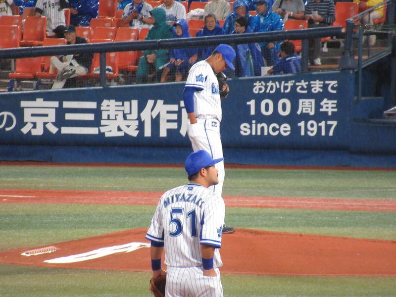 井納投手:タイガース戦3回5失点KO