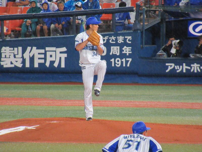 平田投手:2回3失点:横浜DeNAベイスターズ